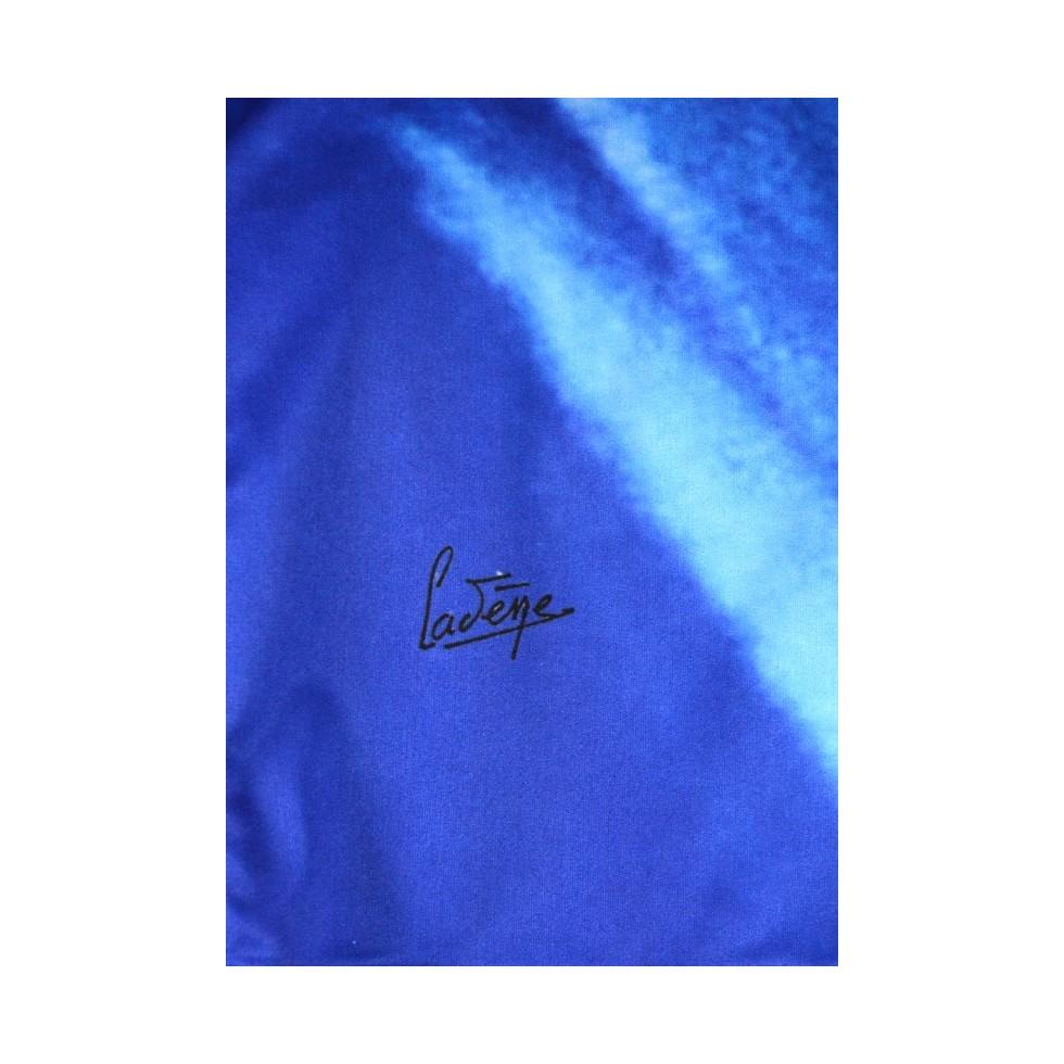 Robe moulante motif peinture cad ne bleu m 39 elle boutique for Motif peinture