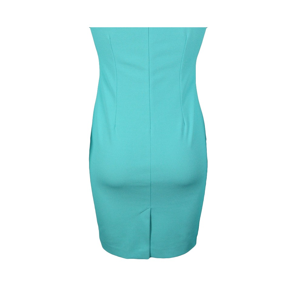 robe moulante voile trap ze vert d 39 eau m 39 elle boutique. Black Bedroom Furniture Sets. Home Design Ideas