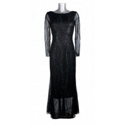 Robe coupe sirène dentelle noire Melle Boutique ... 78e96b71b49