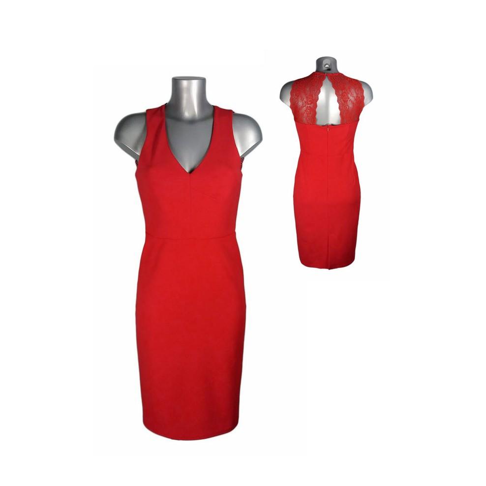 robe crayon rouge dos dentelle fifilles de paris melle boutique m 39 elle boutique. Black Bedroom Furniture Sets. Home Design Ideas