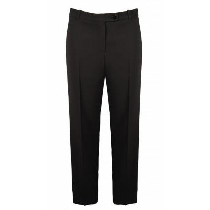 Pantalon tailleur classique à pinces noir Hippocampe Melle Boutique