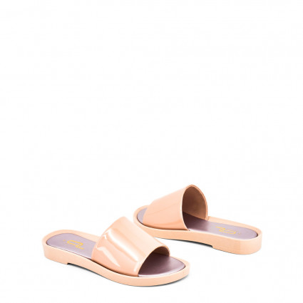 Chaussures sandales plates rose clair Ana Lublin