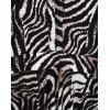 Robe fluide motif zèbre noir et blanc Fifilles de Paris