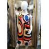 Robe trapèze motif funky multicolore Hippocampe