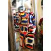 Veste longue motif funky multicolore Hippocampe