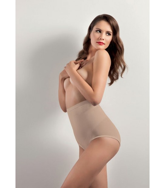 Culotte gainante taille haute chair
