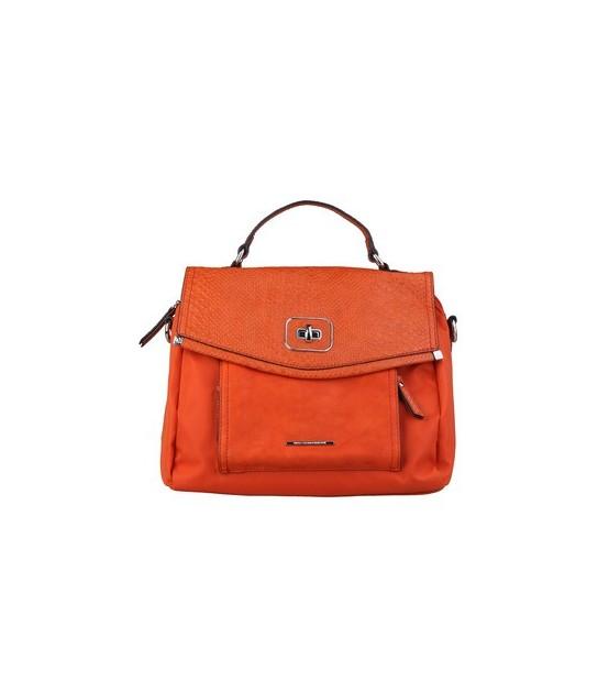 Sac à main sacoche Benetton orange