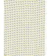 Robe longue motif graphique jaune et bleu fond blanc